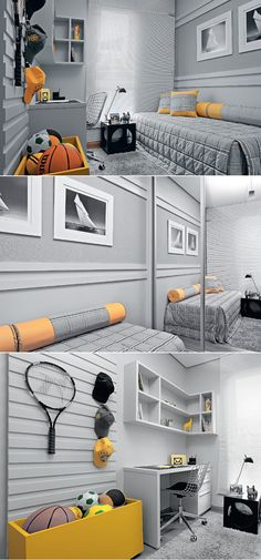ways to show off your wall art than simply hanging a picture on a blank wall. Personalise plain walls with these fun and fabulous ideas for children's rooms. Home Decor Bedroom, Kids Bedroom, Teenage Room, Fashion Room, Boy Room, Interior Design Living Room, House Design, Rooms, Children