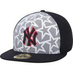 Men s New York Yankees New Era White Navy Stars   Stripes 59FIFTY Fitted Hat a4322f01e73