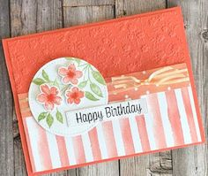 Bday Cards, Hand Stamped Cards, Cricut Cards, Stamping Up Cards, Card Sketches, Flower Cards, Greeting Cards Handmade, Scrapbook Cards, Homemade Cards