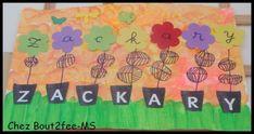 prénoms fleuris moyenne section