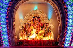 Durga Puja 2017 Date and Time in Kolkata.