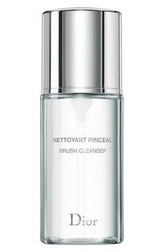 Dior Backstage Brush Cleaner...easy & elegant way to keep makeup brushes clean. No excuses!