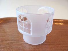 Iittala-Vintage-Balladi-Candle-Votive-1980s-Jorma-Vennola Votive Candles, Colored Glass, Finland, 1980s, Shot Glass, Tableware, Vintage, Design, Scandinavian