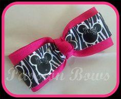 Minnie Bow Tie Bow $3