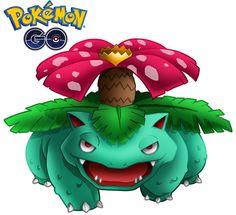 Venusaur 1 de Pokémon Go. PNG de fondo transparente (CLIP ART) 800x800 píxeles. Descarga gratis.