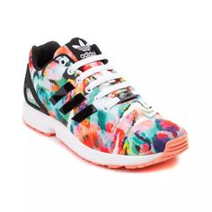 Womens adidas ZX Flux Athletic Shoe
