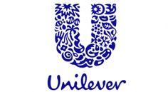 Dit is het logo van Unilever. Unilever is een multi onderneming van etenswaren, verzorging en schoonmaak producten.  Het logo heeft de vorm van een U die staat voor Unilever en onder die U staat Unilever in een beetje slordige letters. In de U staat allemaal producten die ze verkopen zoals: pleisters, T-shirts, lepels , ijs enz... Het logo bestaat uit de blauw en wit en heeft best veel details. Het bedrijf heeft dit logo ontworpen, omdat je alles wat ze verkopen kunt terug vinden in die U.