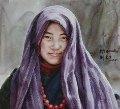 Liu Yunsheng watercolor