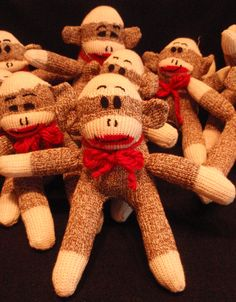 can someone make this for me please? I love sock monkeys!!