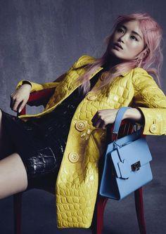 Fernanda Ly by Nicole Bentley for Vogue Australia November 2015