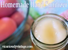 Make Your Own Thieves Oil Hand Sanitizer + variations...