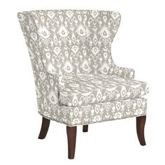 Thurston Wing Chair with Pewter Nailheads {for rocking chair}