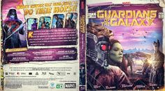 Guardians Of The Galaxy Blu-ray Custom Cover