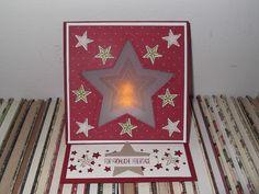 Sconebeker Stempelscheune - Stampin up Sets : Flockenzauber, Be the Star, Pictogram Punches, Spruch-reif, Fröhliche Weihnachten,