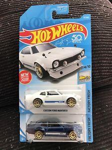 Hot Wheels 2018 Factory Fresh Custom Ford Maverick 219 Plus 97