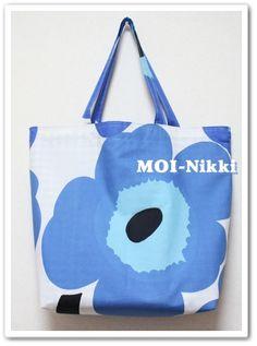 マリメッコの袋が変わった! & UNIKKOのエコバック :: ライアンママの北欧MOI日記 yaplog!(ヤプログ!)byGMO