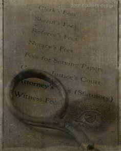"""eye witness"" - four corners design"
