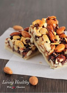 Paleo Honey Nut Bars Recipe