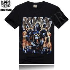 Cheap Muchos patrones Led Zeppelin AC DC Metallica los Beatles Nirvana Guns N ' Roses Kiss banda de Rock Tee camiseta de la roca para hombre, Compro Calidad Camisetas directamente de los surtidores de China:              Bienvenido a nuestra tienda!                              Su satisfacción, nuestra búsqueda!