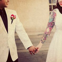 #tattoo #tattoos #ink #inked. Tathunting for tattooed married couples