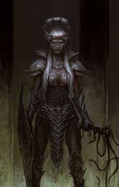 Drow 4 - Forgotten Realms by Fesbraa on DeviantArt