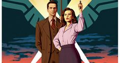 'Agent Carter' Season 2 Comic Con Poster -- Peggy Carter heads to Hollywood in the Comic-Con poster for Season 2 of ABC's 'Agent Carter', returning in midseason early next year. -- http://movieweb.com/marvel-agent-carter-season-2-poster-comic-con-2015/