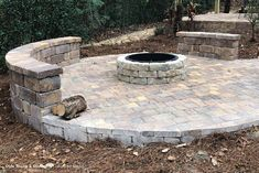 Cozy up to your backyard fire pit! #tremron #tremrongroup #firepit Backyard Designs, Fire Pit Backyard, Outdoor Living, Outdoor Decor, Fire Pits, Lighting Design, Design Projects, Living Spaces, Environment