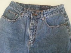 """Eddie Bauer Women's Jeans Denim 8 Cotton Classic Inseam 30"""" Straight Leg Light #EddieBauer #StraightLeg #ebay #EddieBauer #StraightLeg #Classic #Inseam30 #Denim8"""