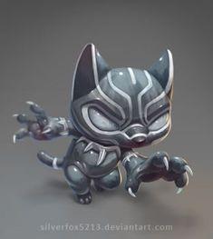 Lil Black Panther by Silverfox5213
