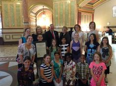 State Sen. Kirk Dillard, R-24th of Hinsdale, and state Rep. Patti Bellock , R-47th of Hinsdale, welcomed students, parents and teachers from the Seton Montessori School in Clarendon Hills to the Capitol in Springfield May 15. The students were in Springfield to watch the legislative