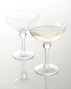 Chic Champagne Coupes / The English Room