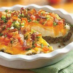 LOADED BAKED POTATO SHEPHERD'S PIE!