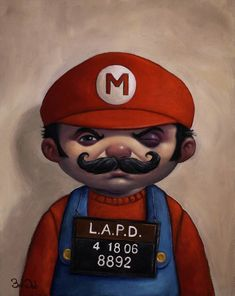 Super Mario Bros. Re-Imagined In 100 Images