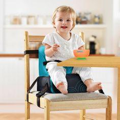 Silla portatil para comer... Ahorra mucho espacio (Amazon.com : Munchkin BRICA GoBoost Travel Booster Seat : Baby)