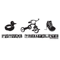 Future Triathlete Baby T-shirt from GoneForaRUN.com