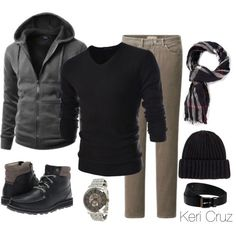Men's Winter Fashion - Polyvore
