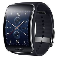 Samsung Galaxy Gear S 2-Inch Smart Watch With Curved Super Amoled Display (Black)