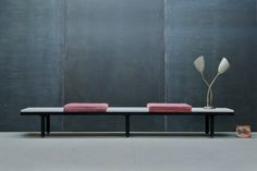 George Nelson Herman Miller Bench : 20th Century Vintage Industrial : Modern Fifty