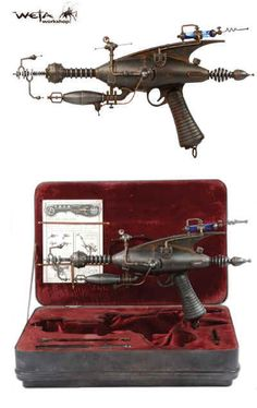 Weta Steampunk Ray Gun, makes a great Christmas gift for that special punk