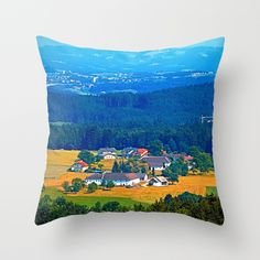 One summer day in the highlands Throw Pillow by patrickjobst First Day Of Summer, Summer Days, Highlands, Throw Pillows, Home Decor, Toss Pillows, Decoration Home, Cushions, Room Decor