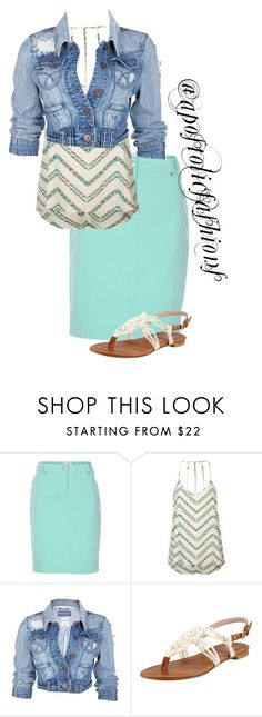 """""""Apostolic Fashions #1280"""" by apostolicfashions ❤ liked on Polyvore featuring Full Tilt, Soul Cal and Stuart Weitzman"""