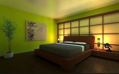 green simple cheap japanese contemporary master bedroom decor ideas beautifulhomesnc14