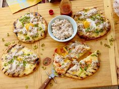 Why wait until dinner to turn on the grill? This grilled breakfast pizza includes all the classic flavors of a southern breakfast, like sausage and gravy.
