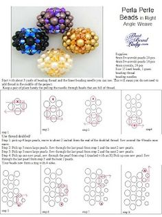 Tutorial: Make Pearl Beads Using Right-Angle Weave
