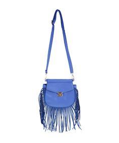 Bolsa com Franjas Azul - cea