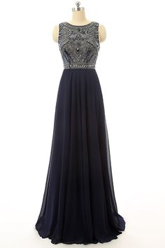Discount Blue Prom Dresses, Long Prom Dresses,A-line/Princess Prom Dresses,PD4558890