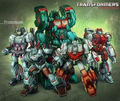 Transformers Protectobots WFC style by bokuman.deviantart.com on @deviantART