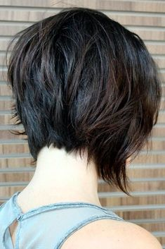 Stunning Short Layered Hairstyles ★ See more: http://lovehairstyles.com/stunning-short-layered-hairstyles/ #BobCutHairstylesShort #longbobhairstyles
