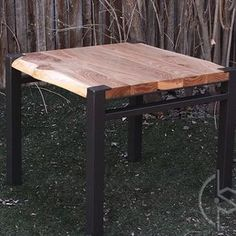 Siberian Elm Side Table by Ryan Dirksen