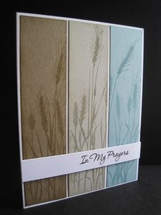 like the colors and that the panels cover the whole length of the card front.